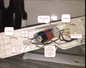 Original kjøleskapkobling